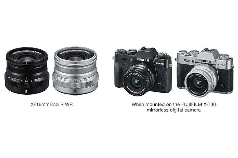 [Photo]XF16mmF2.8 R WR / When mounted on the FUJIFILM X-T30 mirrorless digital camera