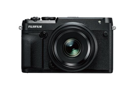 "[Photo]Medium-format mirrorless digital camera ""FUJIFILM GFX 50R"""