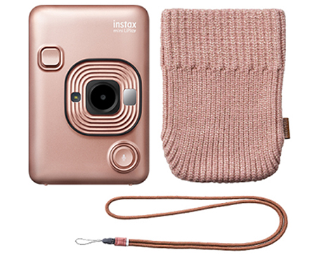 "Hybrid instant camera ""instax mini LiPlay"" accessory set"