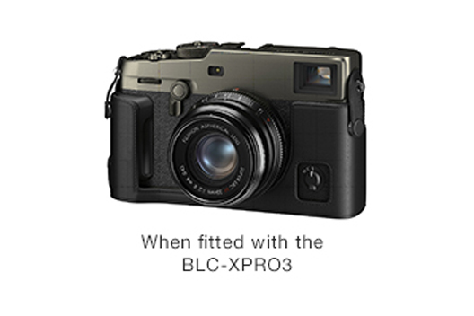 [Photo]When fitted with the BLC-XPRO3