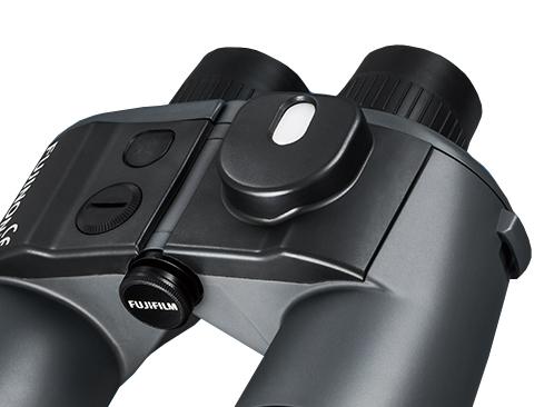 [photo] Compass on top of 7 × 50 WPC-XL black binoculars
