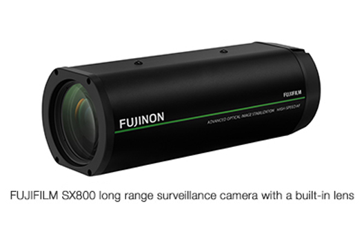 [Photo]FUJIFILM SX800 long range surveillance camera with a built-in lens