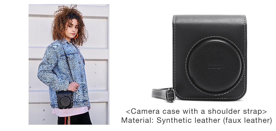[Image]Camera case with a shoulder strap