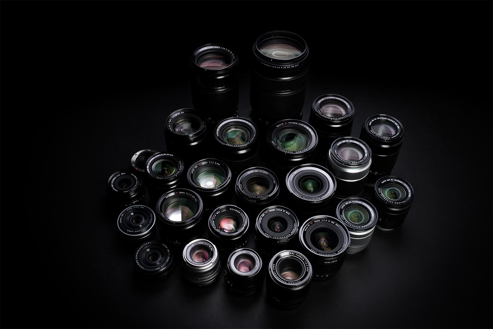 [photo] Assorted Fujifilm X Mount lenses