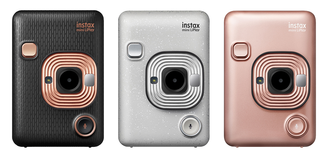 """[Image] (Reference) The hybrid instant camera """"instax mini LiPlay"""""""