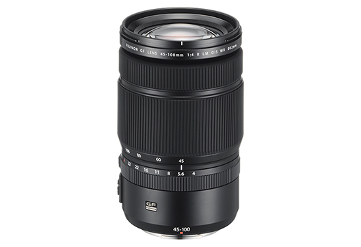 "Interchangeable lens for digital camera GFX series ""FUJINON LENS GF45-100mmF4 R LM OIS WR"""