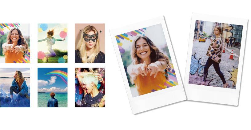 [photo] Frame Print adding frame designs to photo prints