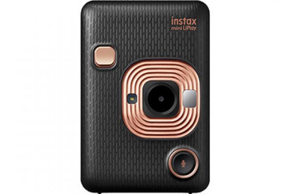 [photo] Fujifilm Instax mini LiPlay camera in Elegant Black