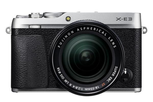[photo] Fujifilm X-E3 System Digital Camera - Silver and black