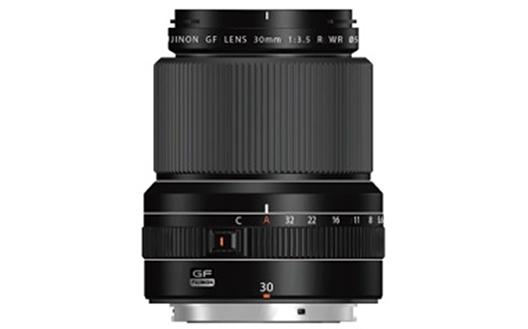 "Interchangeable lens for digital camera GFX series ""FUJINON LENS GF30mmF3.5 R WR"""