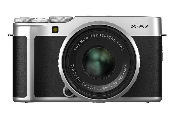 [photo] Fujifilm X-A7 System Digital Camera - Silver and black