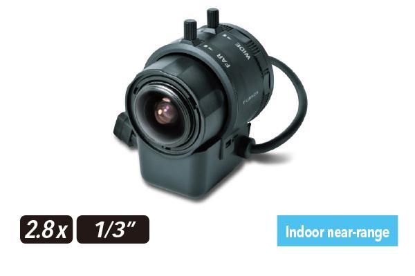 [photo] YV2.8x2.8LA-SA2 / SA2L varifocal lens on its side
