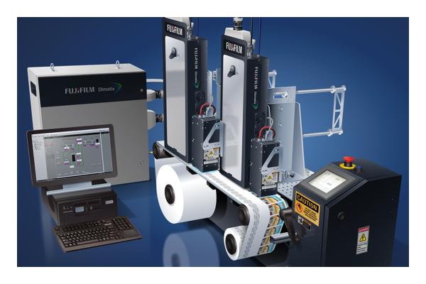 Mini 4300-serie industrieel inkjetprintbalk-systeem