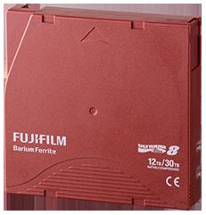 LTO Ultrium 8 Data Cartridge Back View