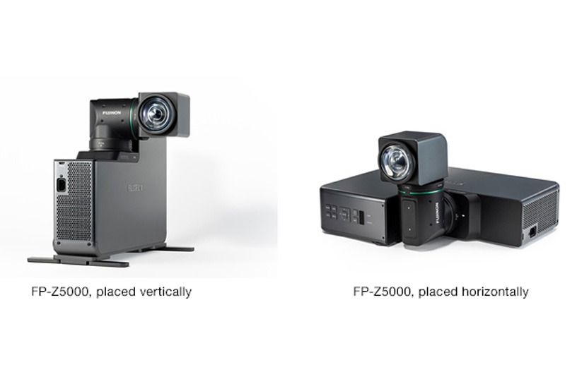 [Photo]FP-Z5000, placed vertically / FP-Z5000, placed horizontally