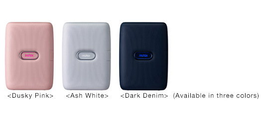 [Photo]<Dusky Pink>,<Ash White>,<Dark Denim> (Available in three colors)