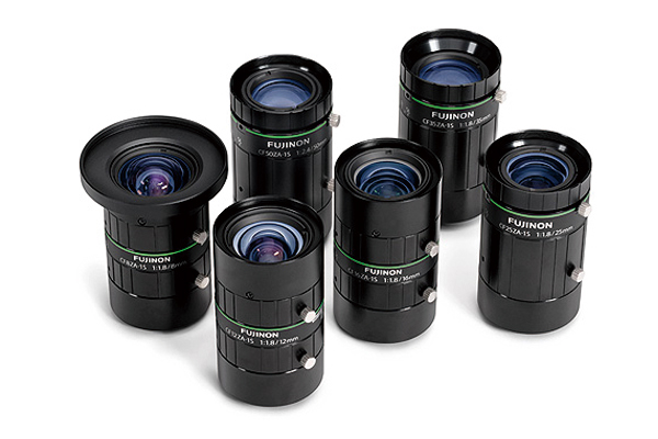 [photo] CF-ZA-1S Series lenses standing upright and grouped together
