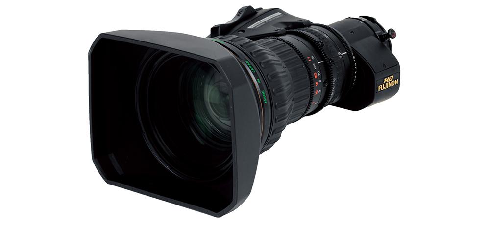 [photo] 2/3 inch HD ENG lens model HA23×7.6BERM / BERD