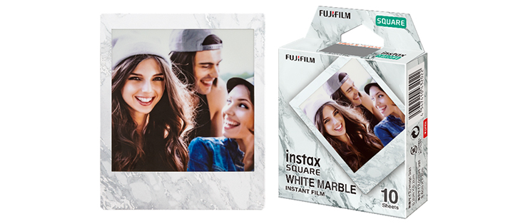 """[Image]Square format film """"WHITE MARBLE"""""""