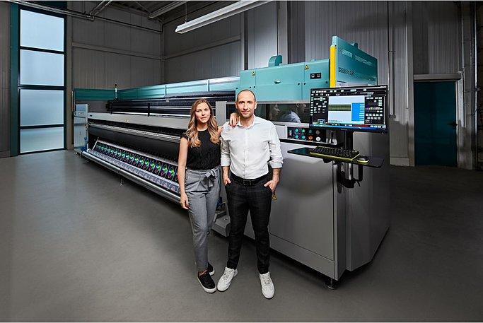 Saskia Friederich and Sven Breiter, joint CEOs of Fokina