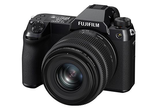 [image]Obiektyw GF35-70mmF4.5-5.6 WR zamontowany w FUJIFILM GFX50S II