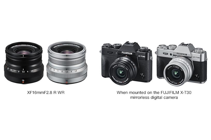 [Photo]XF16mmF2.8 R WR / When mounted on the FUJIFILM X-T30 mirrorless digital camera