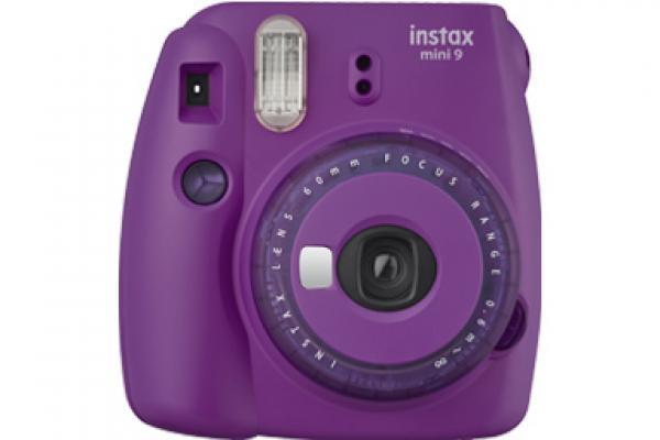 [photo] Cámara Fujifilm Instax mini 9 de edición limitada en violeta