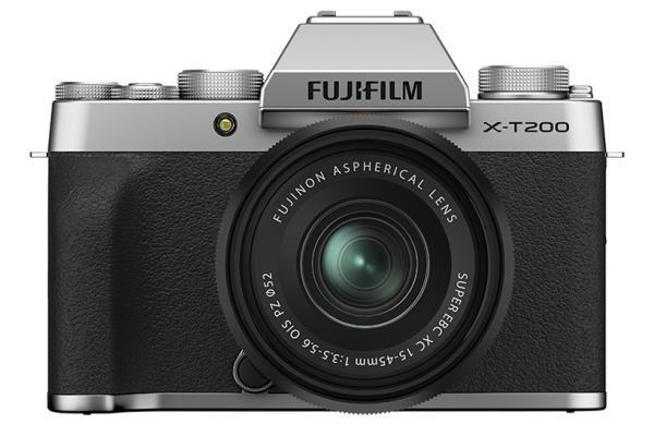 [photo] Fujifilm X-T200 System Digital Camera - Silver and black