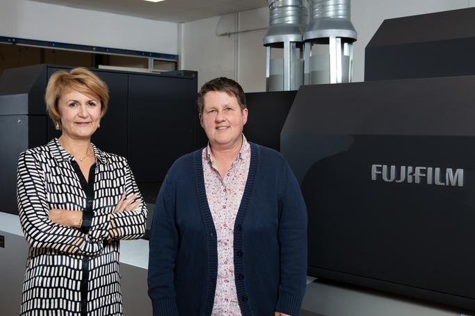 Ramona Weiß-Weber, CEO and Jutta Reimann, Technical Director, Hubert&Co.