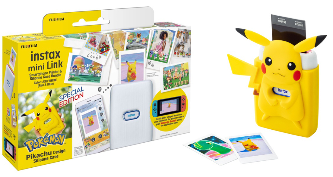 [image]Special bundle kit with specially designed silicone case featuring Pikachu