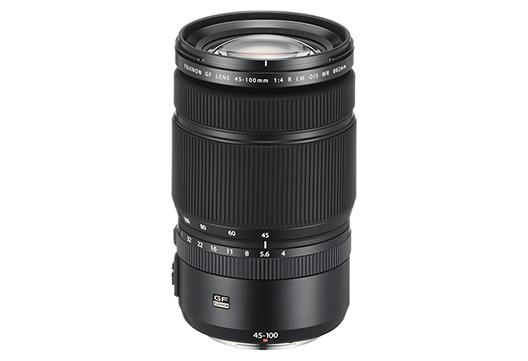 "Interchangeable lens for digital camera GFX series ""FUJINON LENS GF45-100mmF4 R LM OIS WR"""