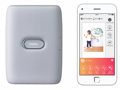"""[image]Smartphone app for """"instax mini Link"""""""