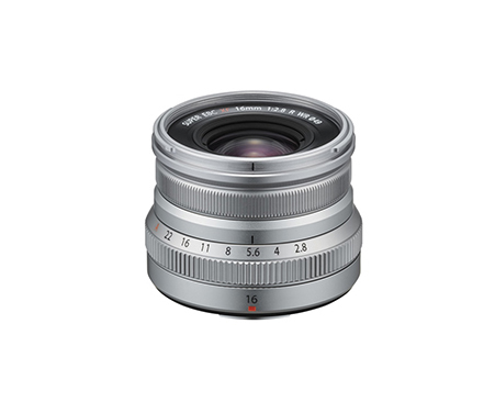 FUJINON Lens XF16mmF2.8 R WR