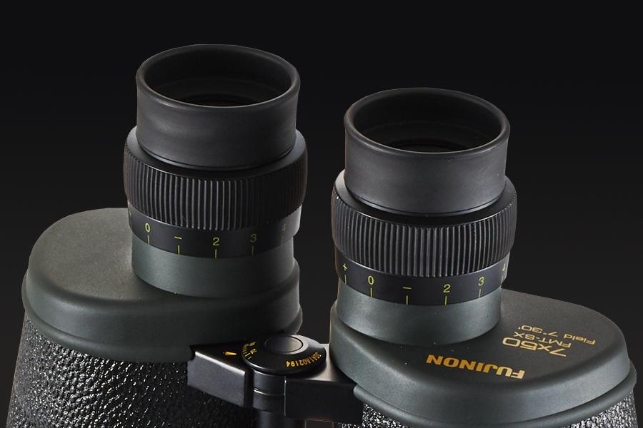 [photo] Rubber, comfortable Eye relief design on binoculars