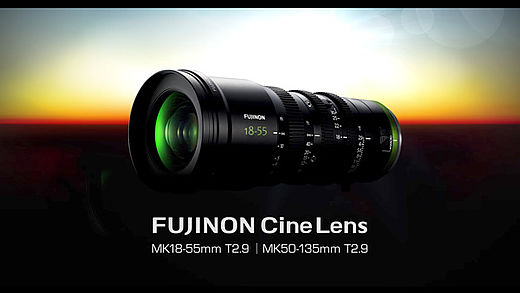 [photo] Fujinon Cine lens with a sunset in the background