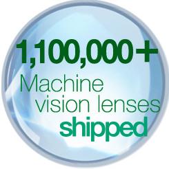 [image] 1,100,000+ Machine Vision Lenses shipped