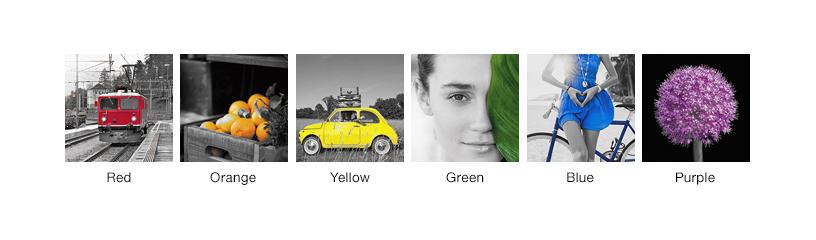 [Photo]Filters — Part Color