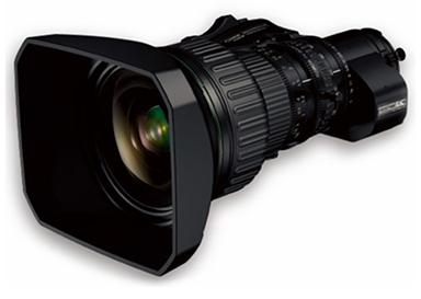 "[image]4K-compatible broadcast zoom lens""FUJINON UA24×7.8BERD S6B"""