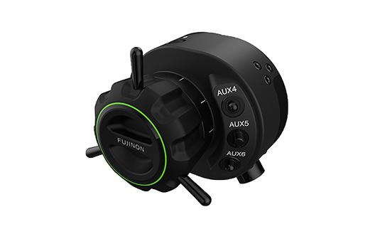 "Focus positon demand unit  ""FUJINON EPD-51A-D02/F02"" for broadcast lens"