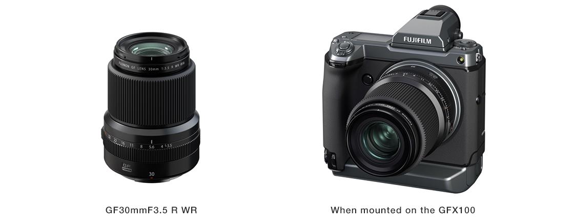 FUJINON Lens GF30mmF3.5 R WR
