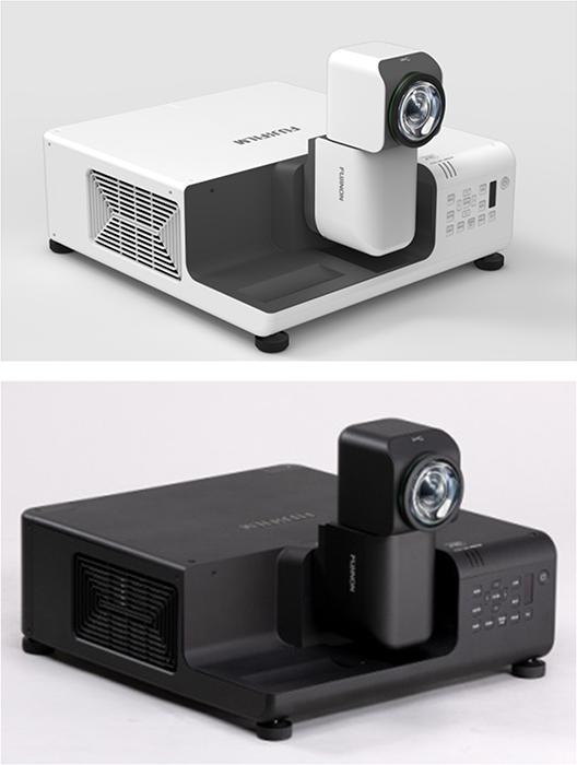 "[image]Ultra-short throw projector ""FUJIFILM PROJECTOR Z8000"""