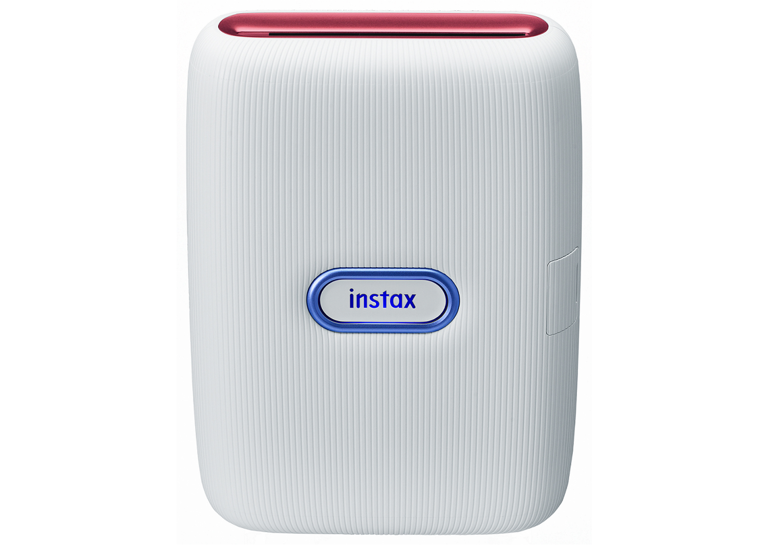 [Product Images]instax mini Link Ash White (Red & Blue)