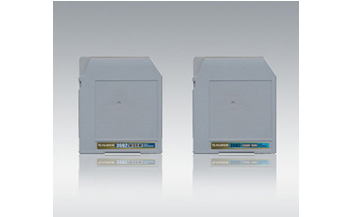 [photo] 2 High Capacity storage media cartridges with a light gray background