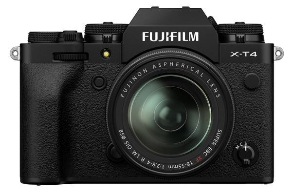 [ภาพ] กล้องดิจิทัลระบบ X-T4 ของ Fujifilm สีดำ