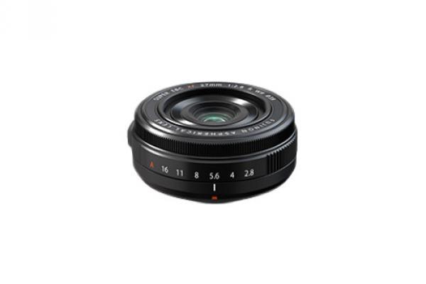 [ภาพ] เลนส์ไพรม์ XF27 มม. F2.8 ของ Fujifilm สีดำ