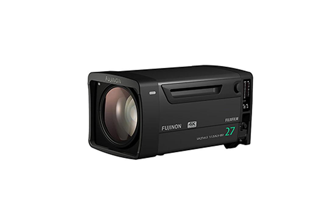 "[Photo]4K camera compatible zoom broadcast lens ""FUJINON UA27 x 6.5"""