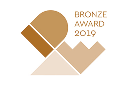 "[Logo]""IDEA 2019"" Bronze Award winner"