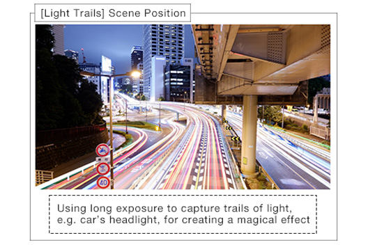 [Photo][Light Trails] Scene Position