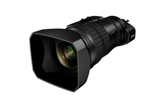 "[Photo]Portable zoom lens for broadcasting ""FUJINON UA46x9.5BERD"""