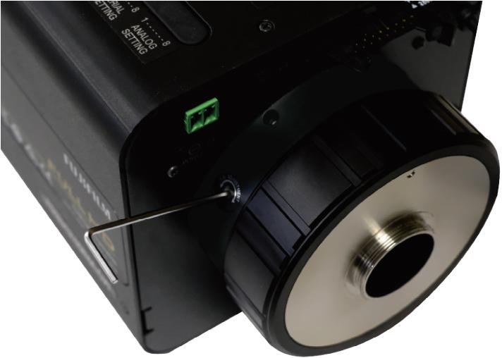 [photo] Adjustable flange focal distance on lens